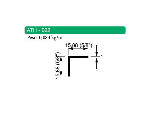 Cantoneira de Alumínio - ATH-022