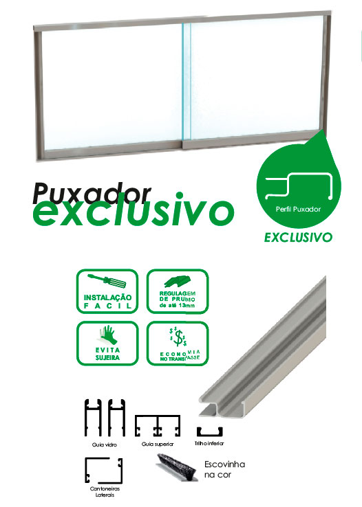 kit pia puxador exclusivo