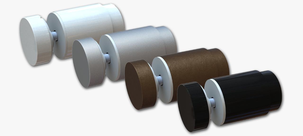 Prolongador para Vidro Regulável - Diversas Cores