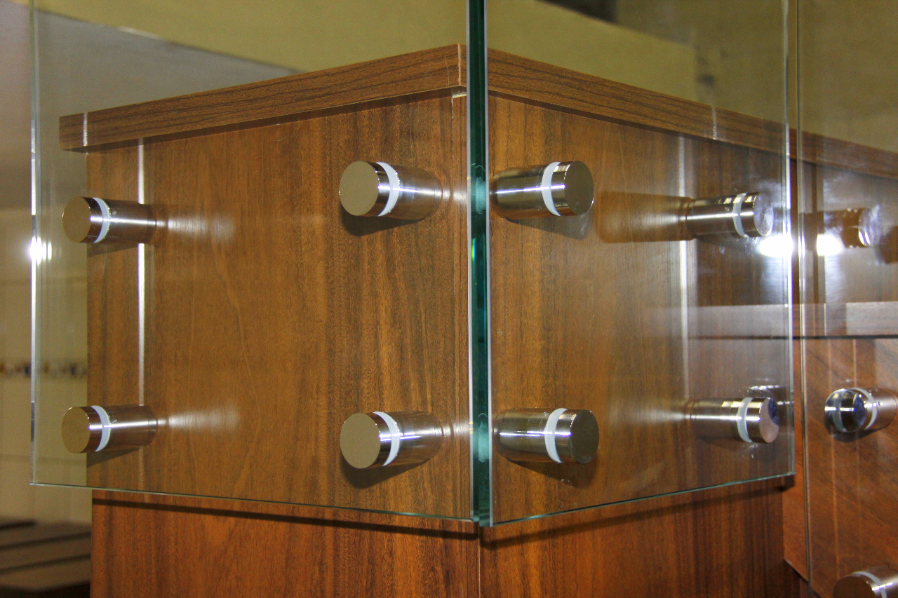 Prolongador para Vidro Regulável. Ideal para Sacada e Escadas